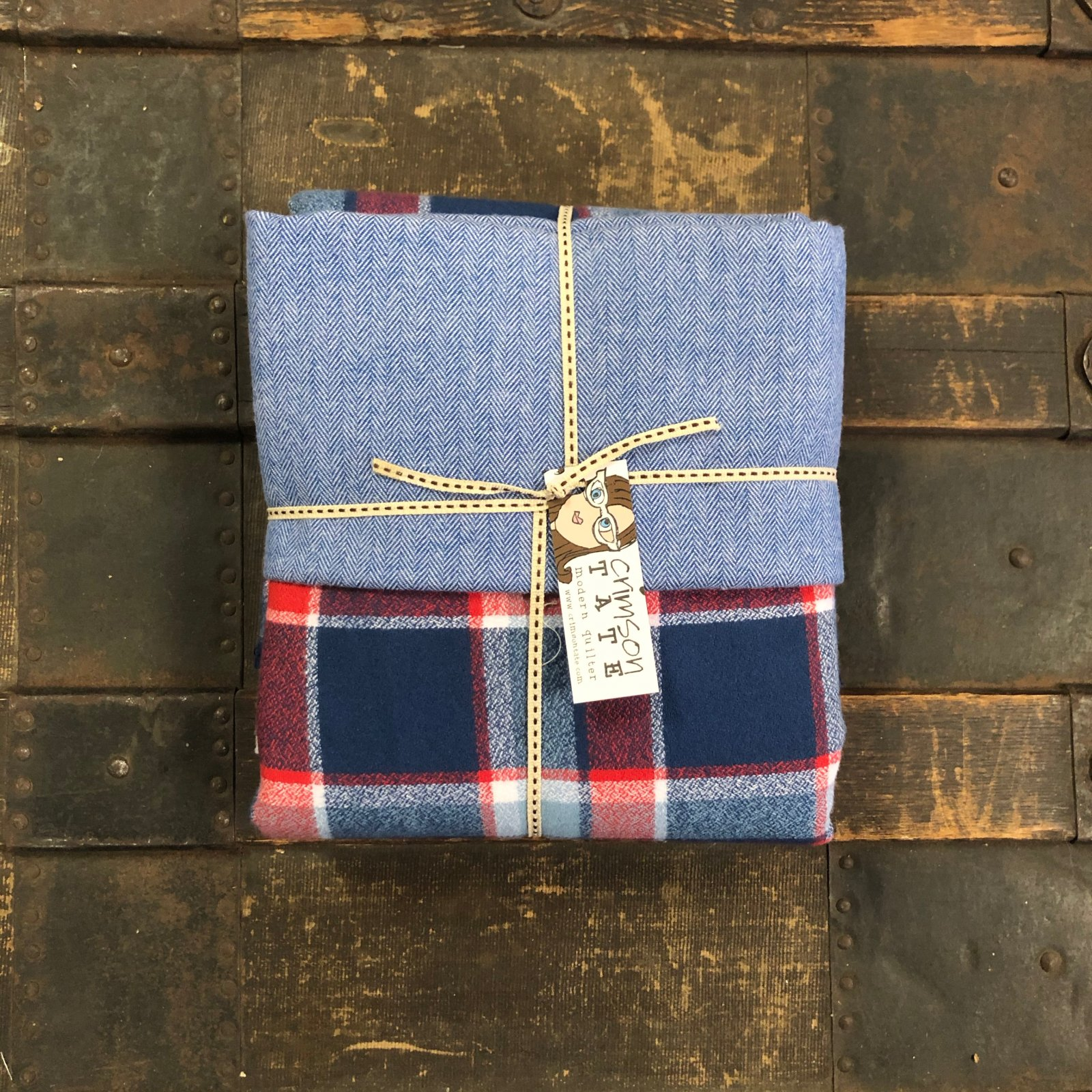 Dad's Flannel Stocking Kit