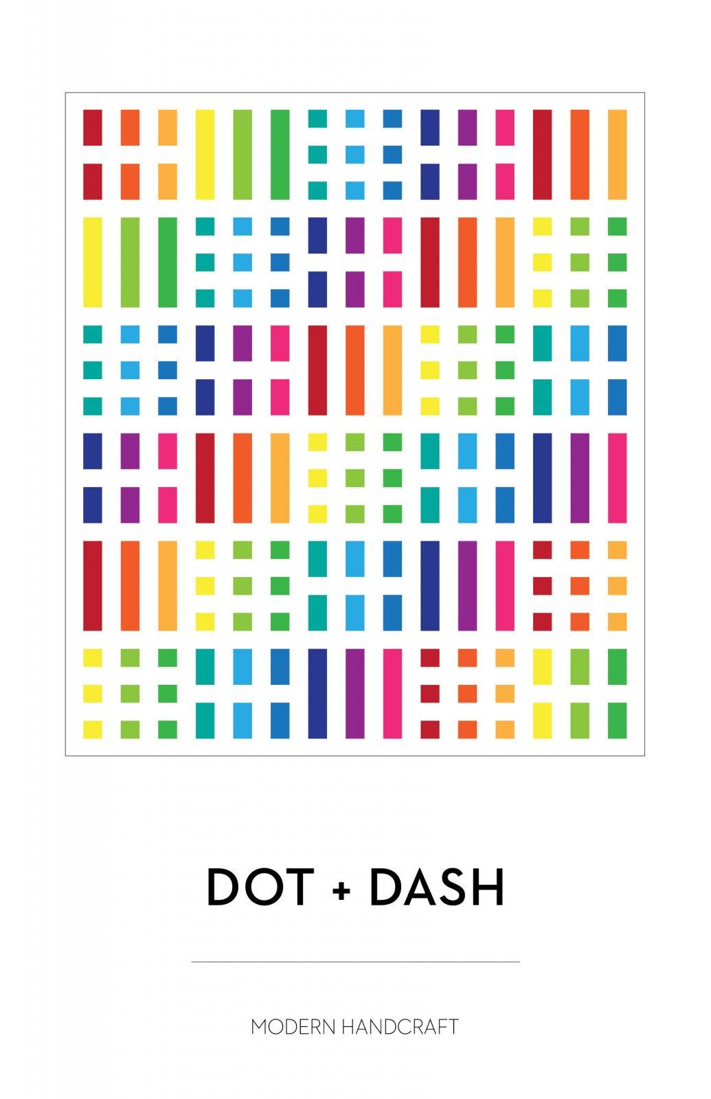Dot + Dash Quilt Pattern