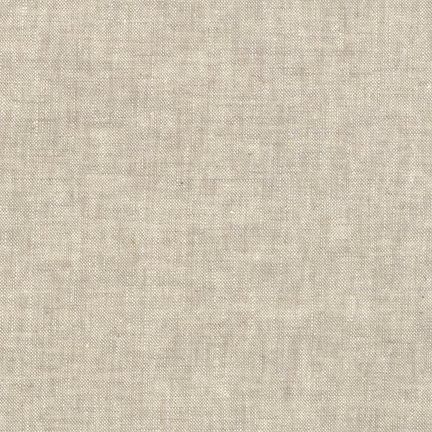 Robert Kaufman Yarn Dyed Essex Linen (Flax)