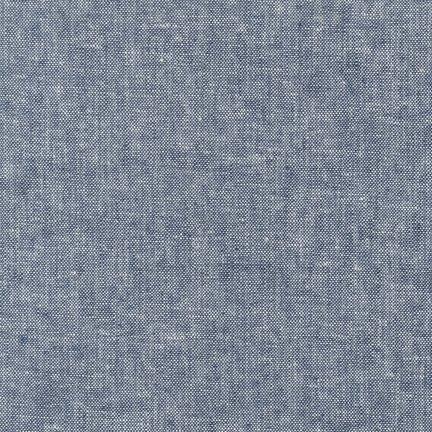 Robert Kaufman Yarn Dyed Essex Linen (Indigo)