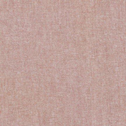 Robert Kaufman Yarn Dyed Essex Linen (Mocha)