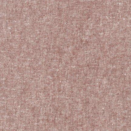 Robert Kaufman Yarn Dyed Essex Linen (Rust)