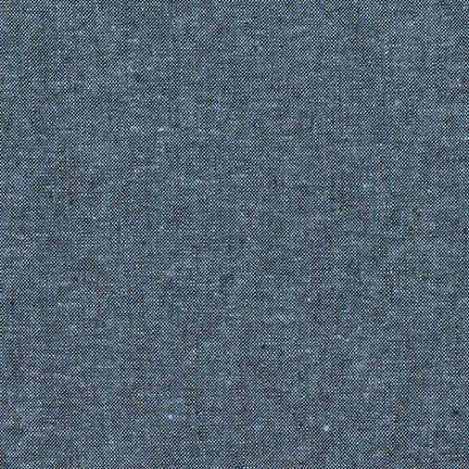 Robert Kaufman Yarn Dyed Essex Linen (Nautical)
