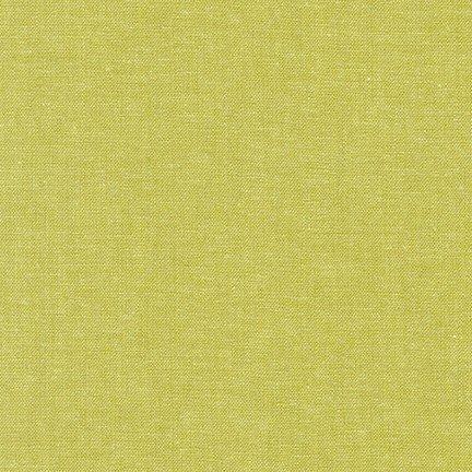 Robert Kaufman Yarn Dyed Essex Linen (Pickle)