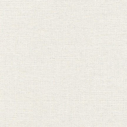 Robert Kaufman Metallic Yarn Dyed Essex Linen (Vintage White)