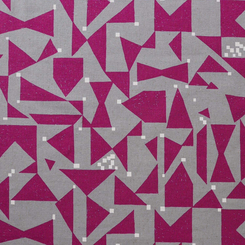 Echino Lightweight Canvas - EKX-97200-200C (Pink/Grey)