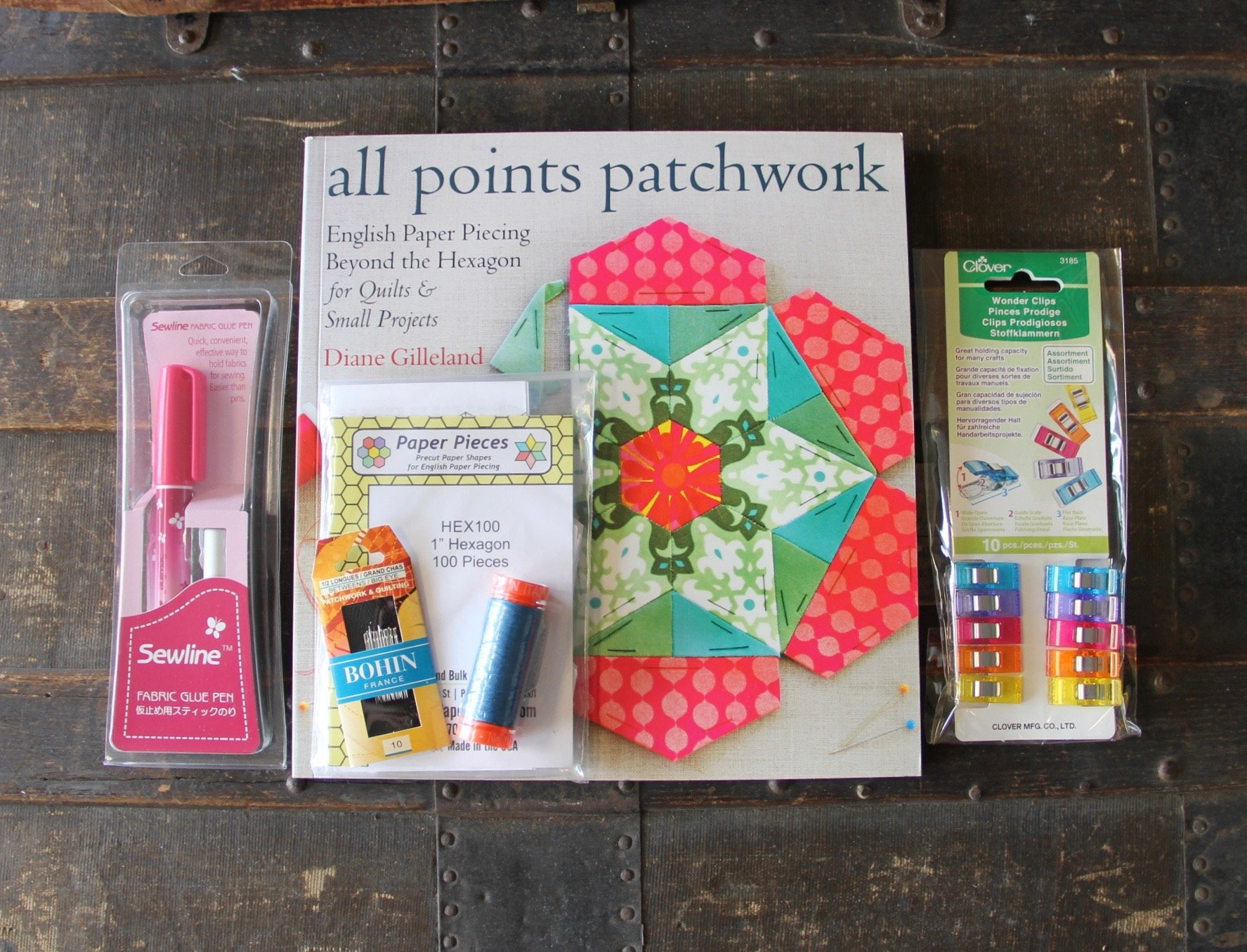 Beginning English Paper Piecing Starter Kit