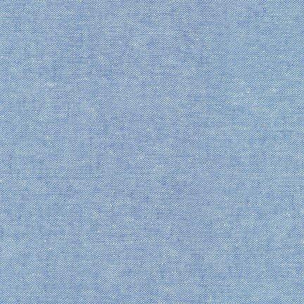 Robert Kaufman Yarn Dyed Essex Linen (Cadet)