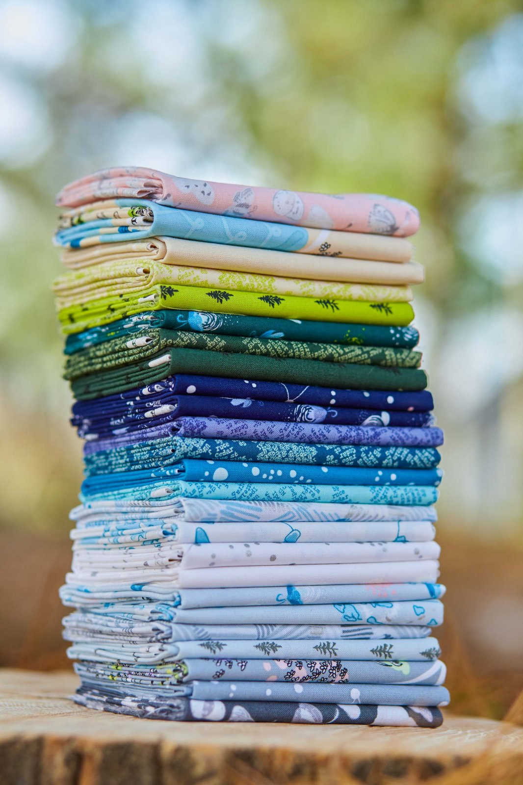 Heather Givans Night Hike - 25 pc. Fat Quarter Bundle