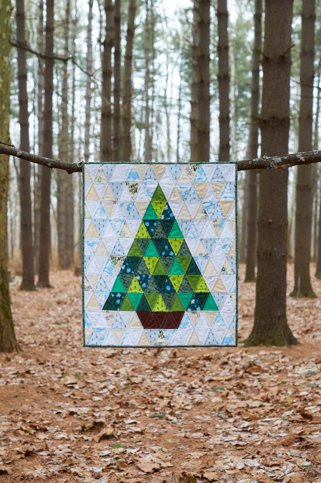 Evergreen Tree Quilt Kit