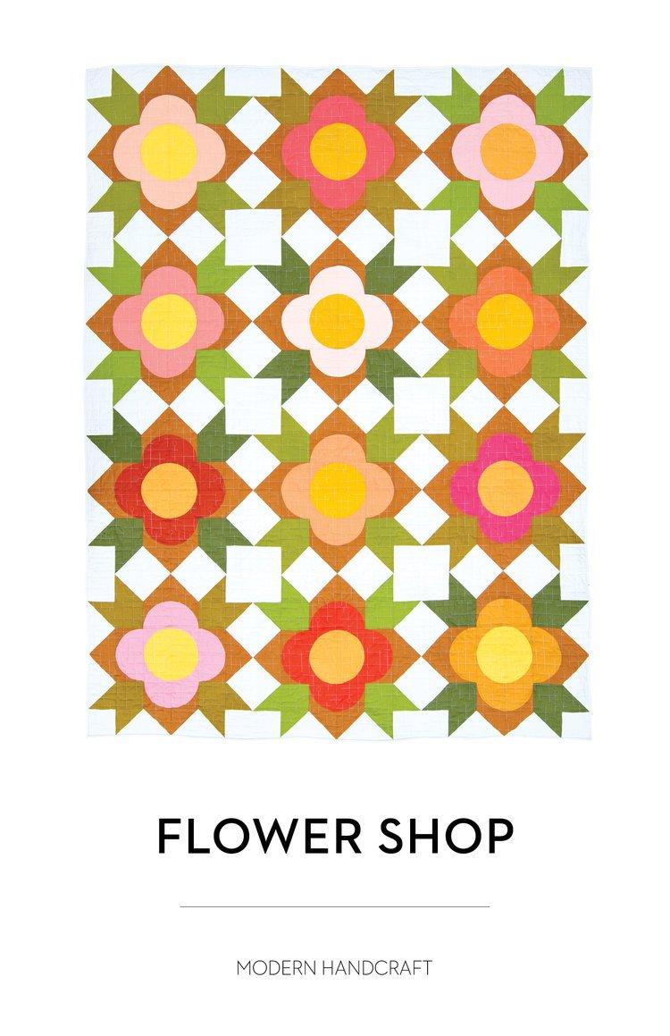 Flower Shop Quilt Pattern