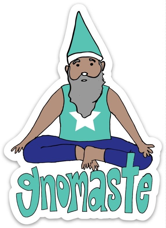 Gnomaste Sticker