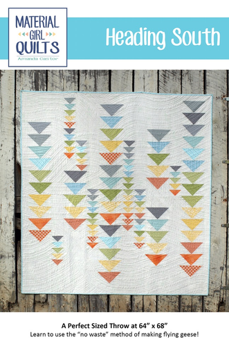 Heading South Pattern by Material Girl Quilts
