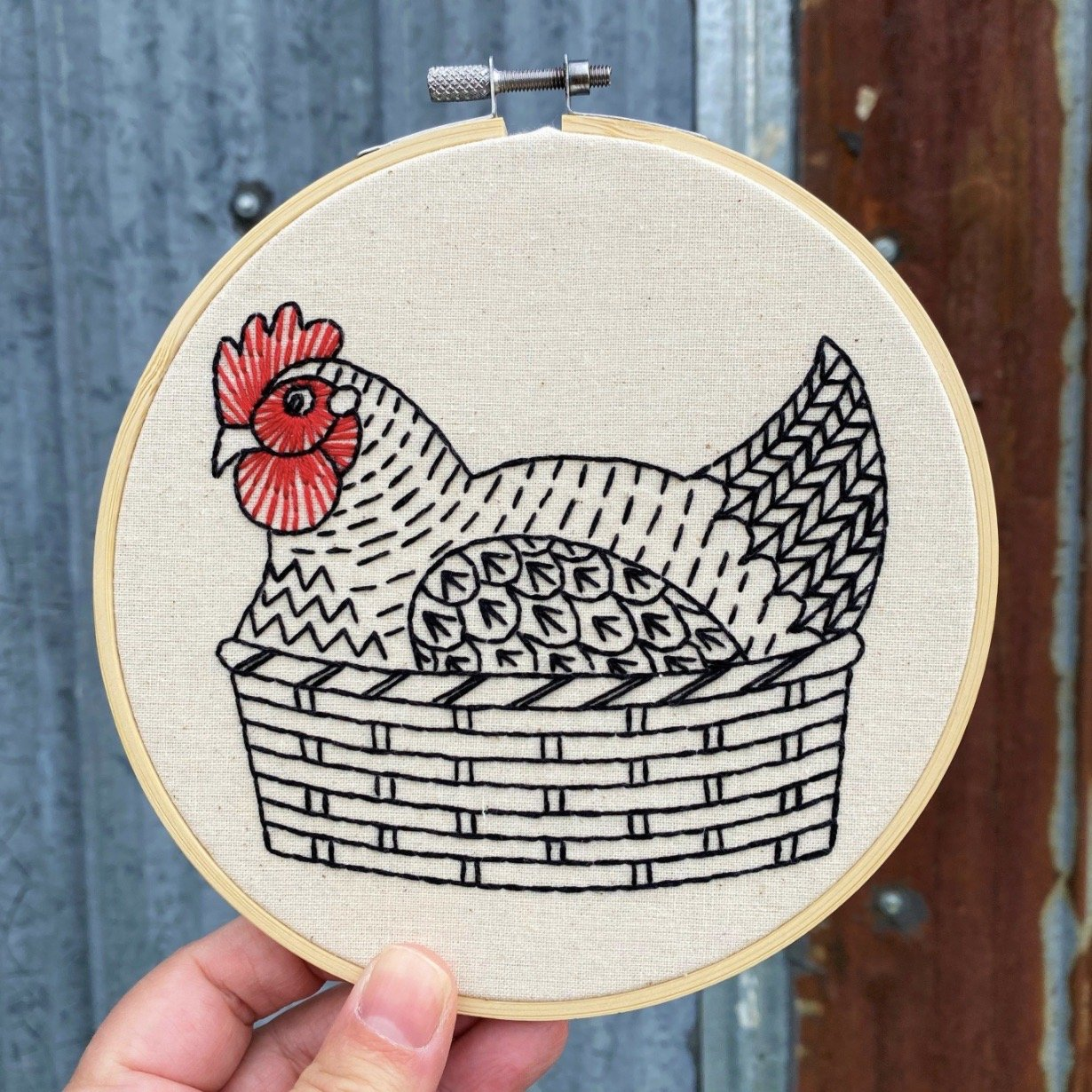 Henny Penny Embroidery Kit