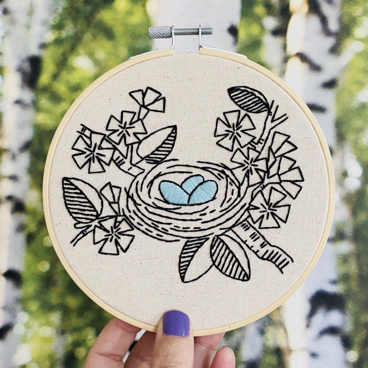 Nest Embroidery Kit
