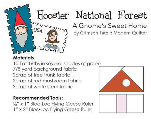 Hoosier National Forest Row Pattern