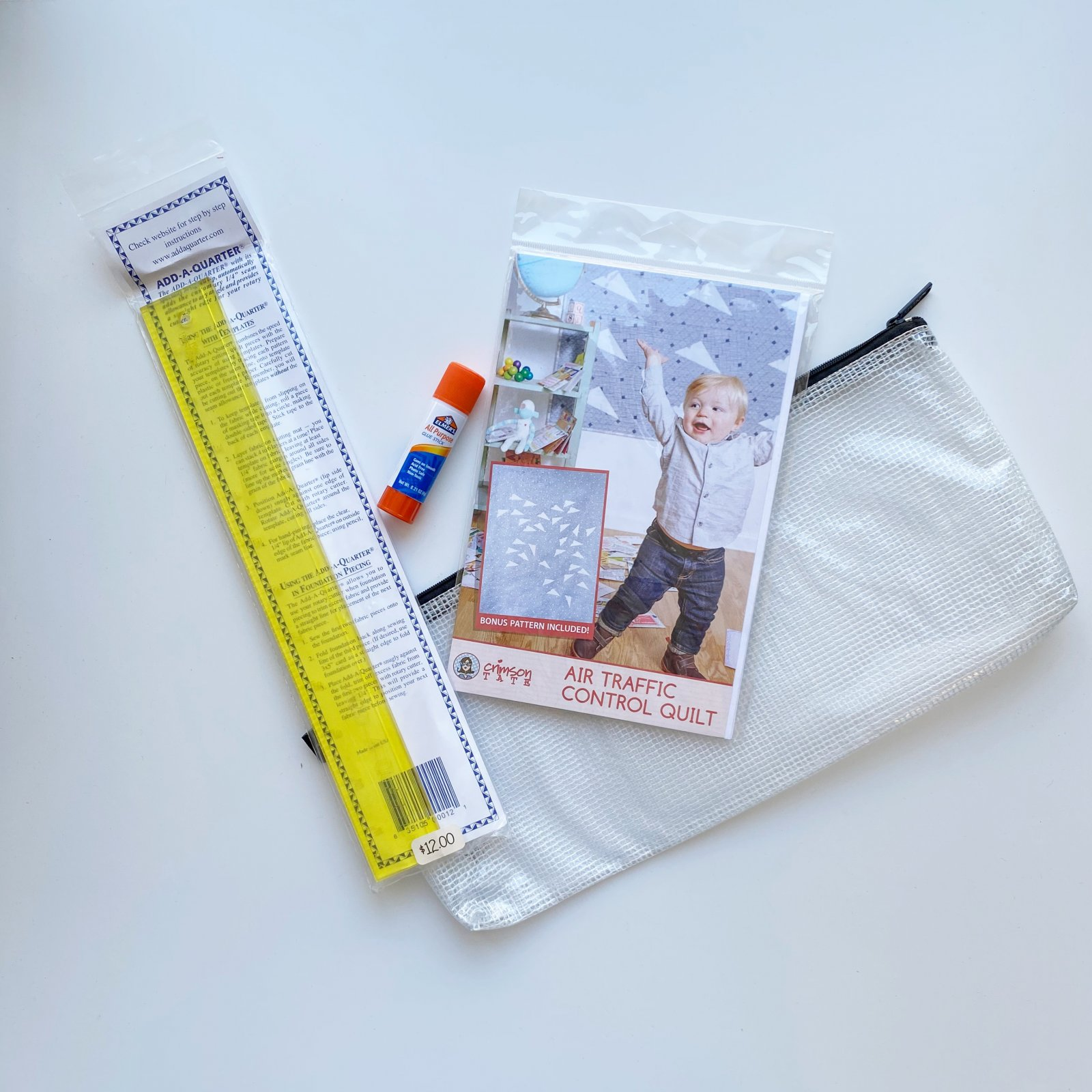 Air Traffic Control Quilt Supply Kit