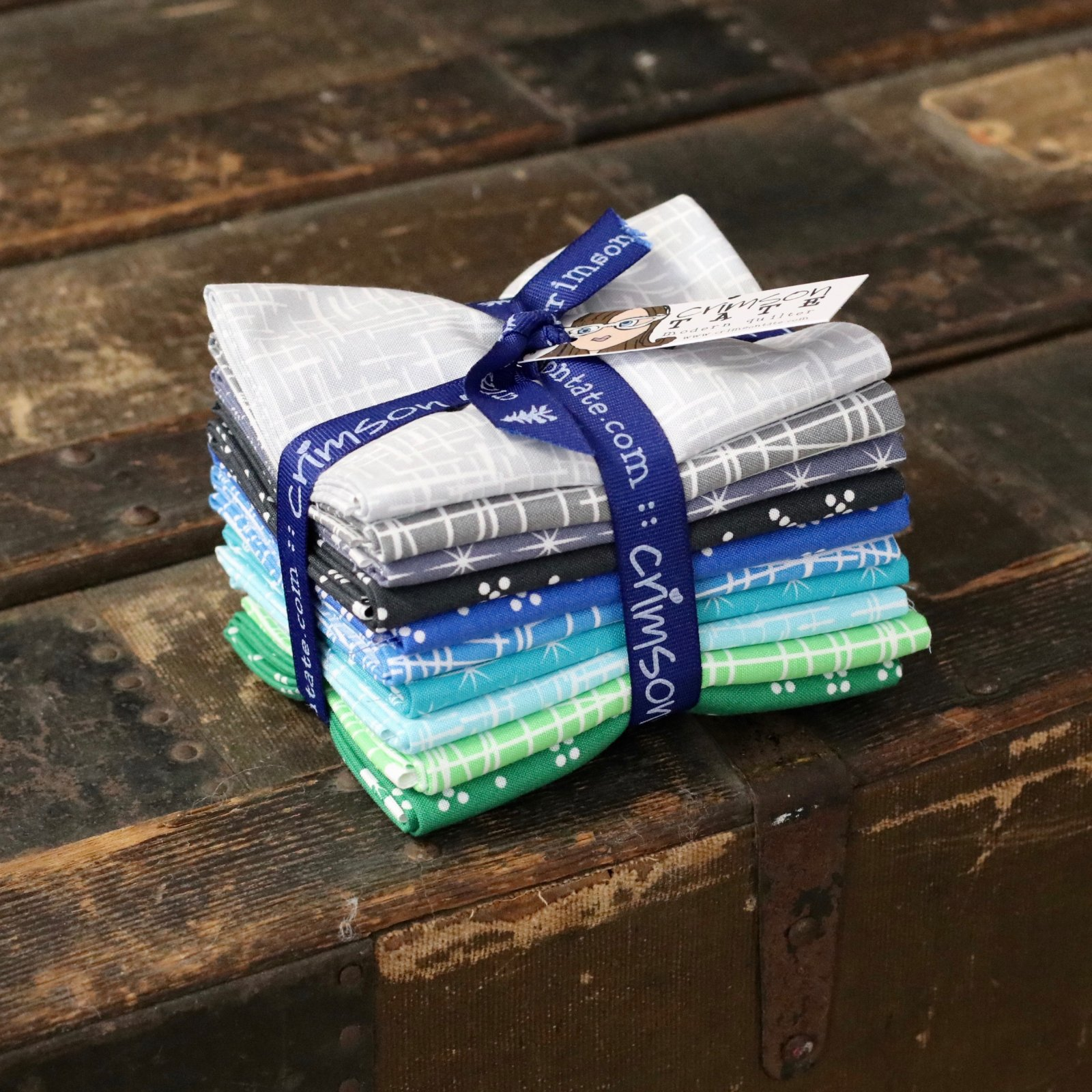 Violet Craft Modern Classics (Nightfall) - 10 pc. Fat Quarter Bundle