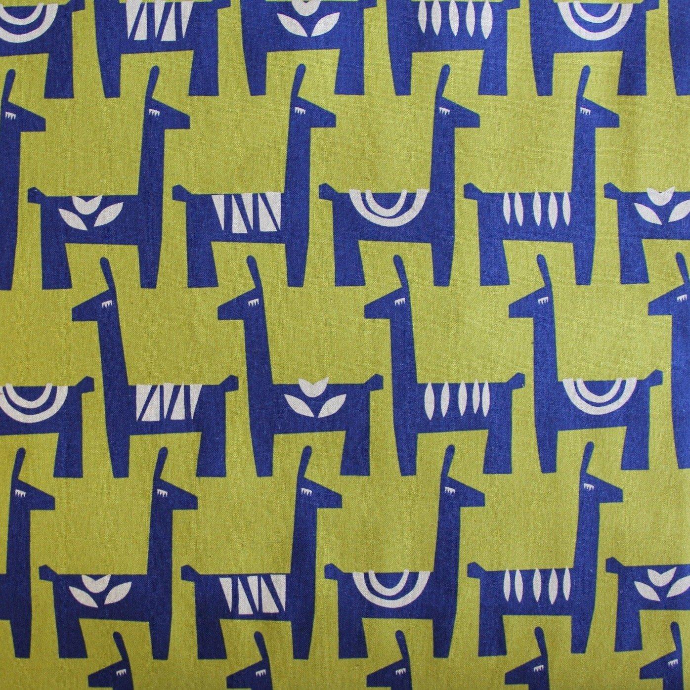 Ellen Baker Stencil - Llamas (Mustard)