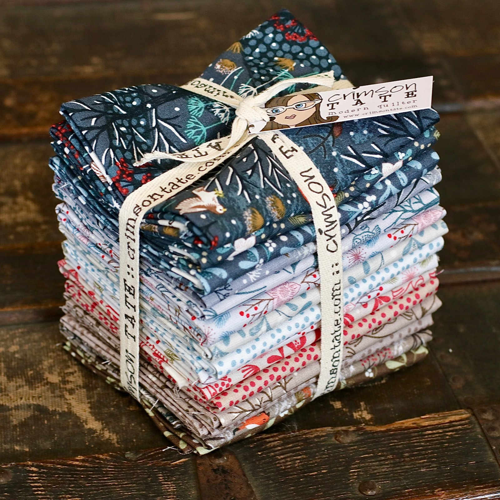 Lewis & Irene Winter in Bluebell Wood - 15 pc. Fat Quarter Bundle