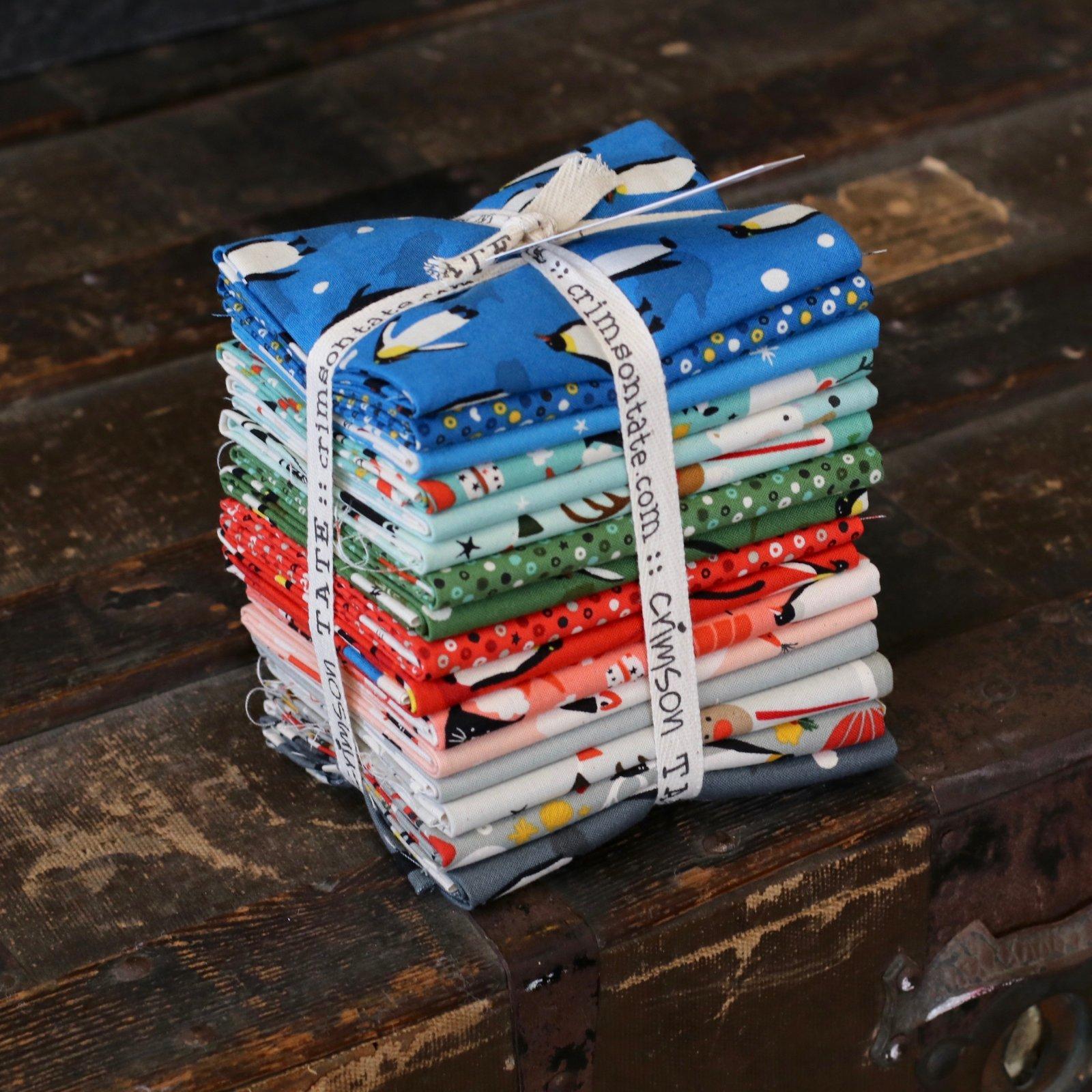 Cotton + Steel Waku Waku Christmas - 16 pc. Fat Quarter Bundle
