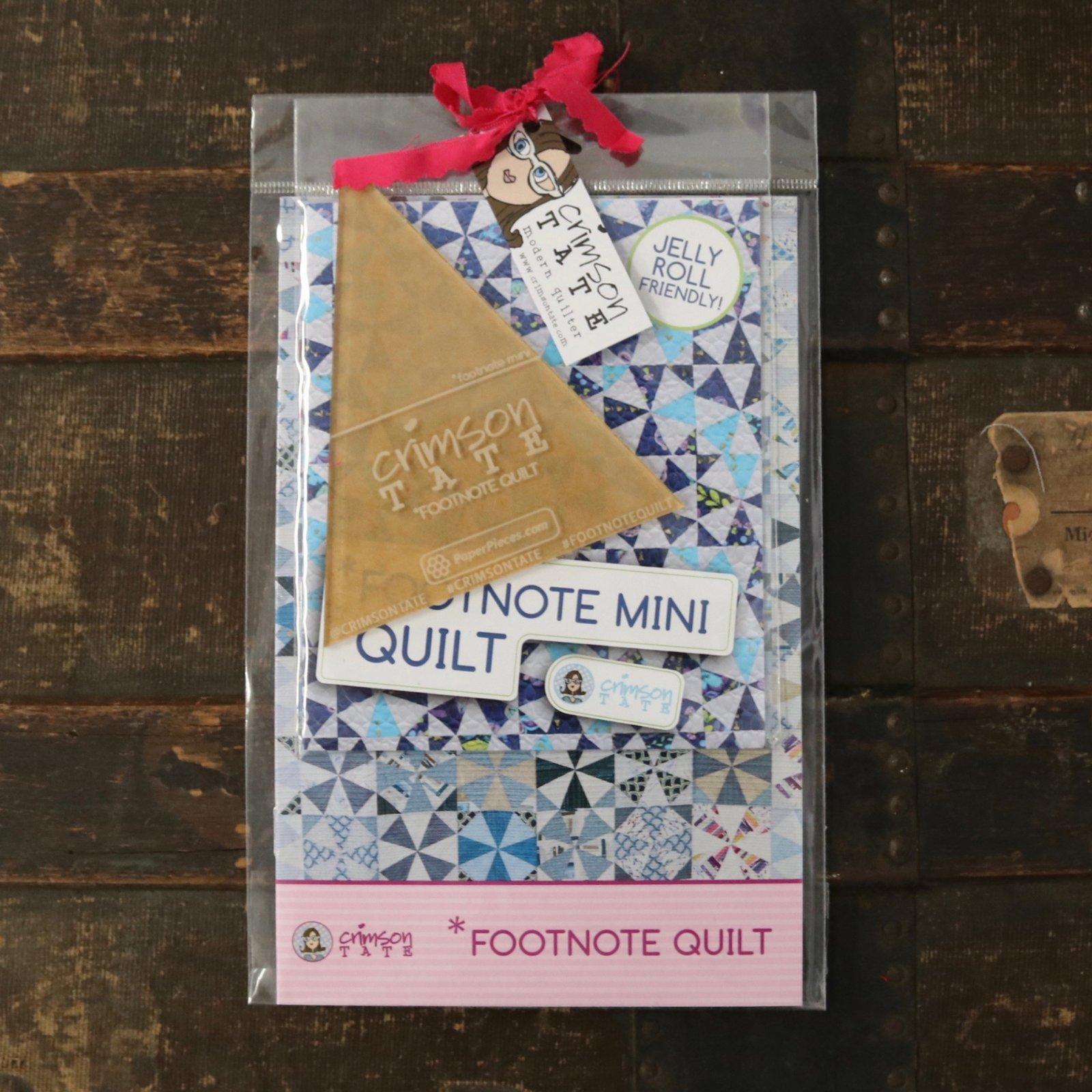 *Footnote + *Footnote Mini Starter Kit