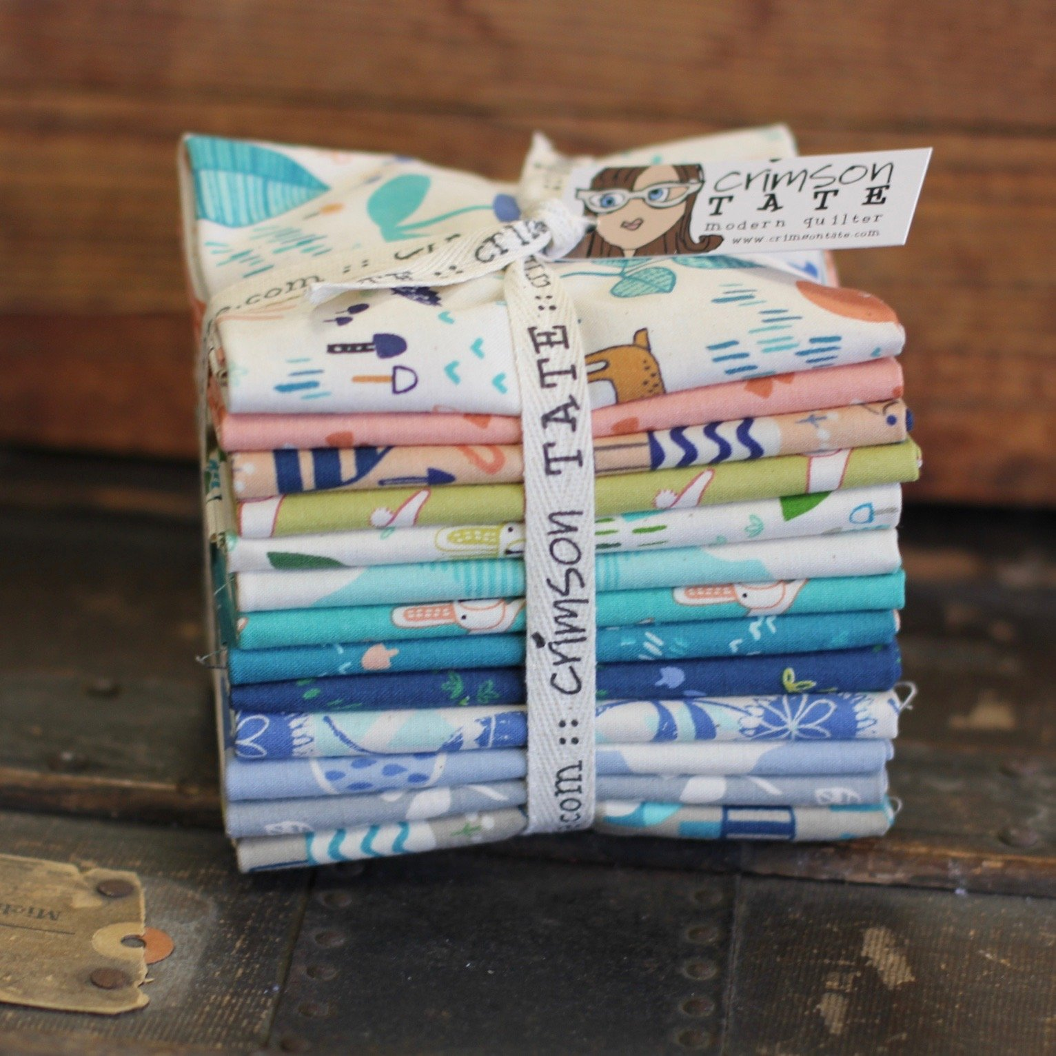 Hitomi Osumi Mori No Tomodachi - 13 pc. Fat Quarter Bundle