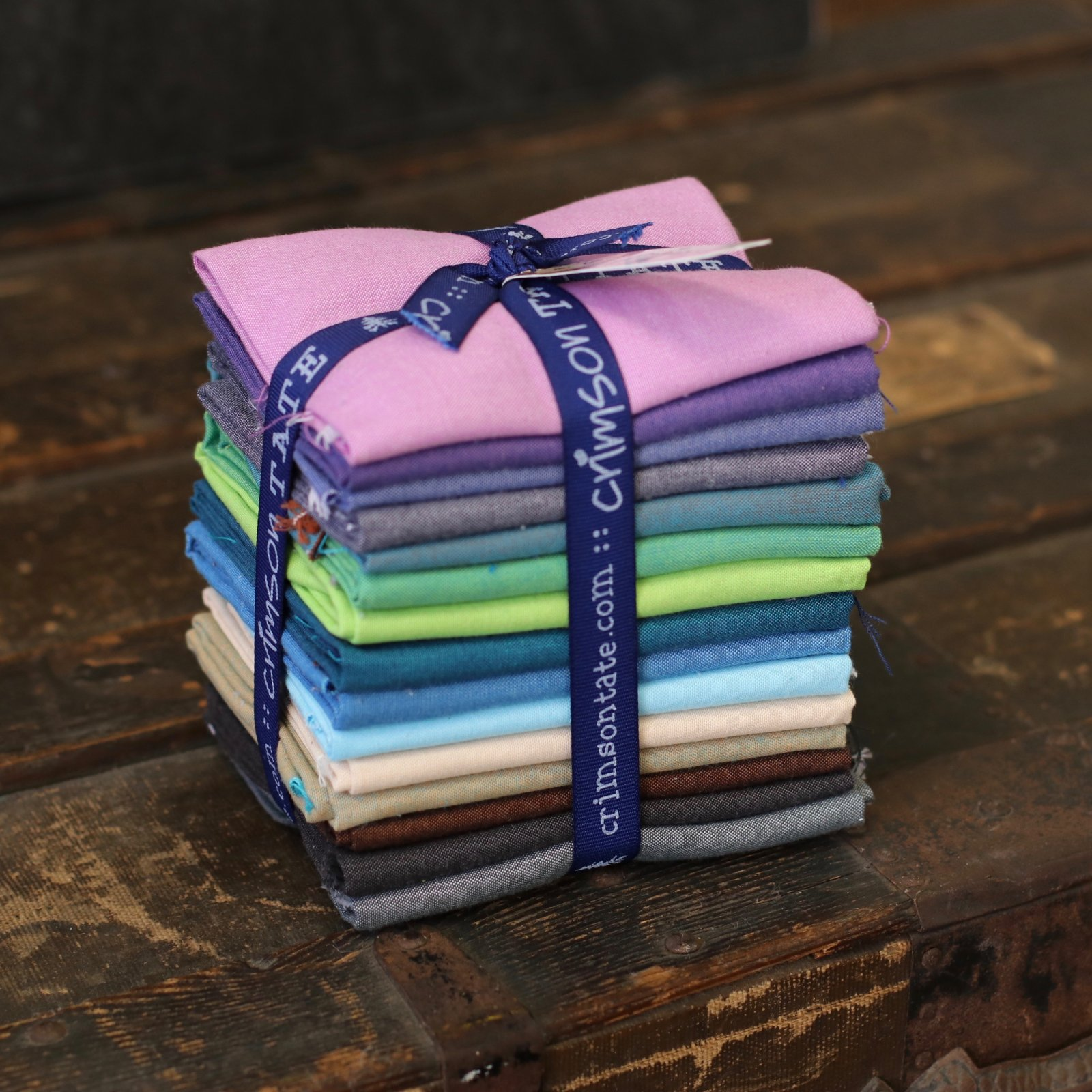 Night Hike Coordinating Shot Cotton 15 pc. Fat Quarter Bundle