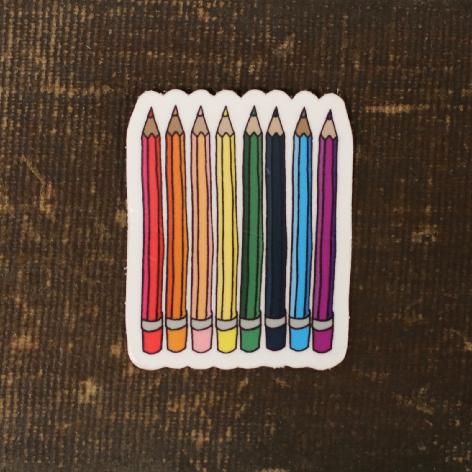 Pencil Club Sticker