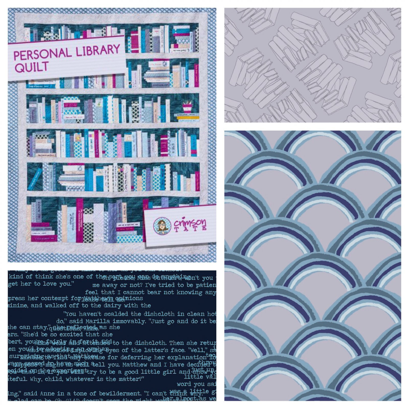 Personal Library Quilt Finishing Kit (Full)