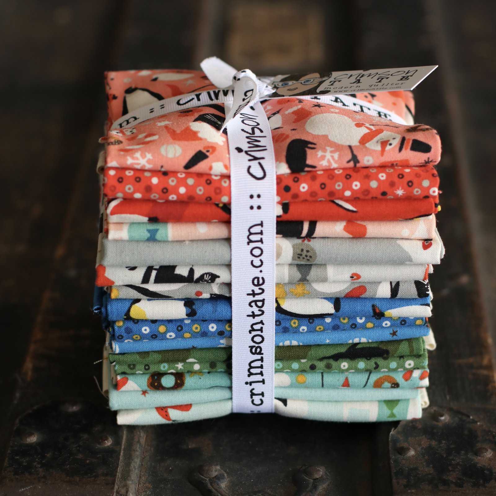 Cotton + Steel Waku Waku Christmas - 15 pc. Fat Quarter Bundle