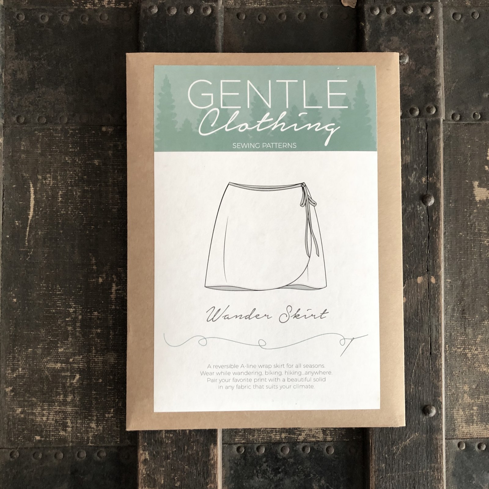 Wander Skirt Pattern