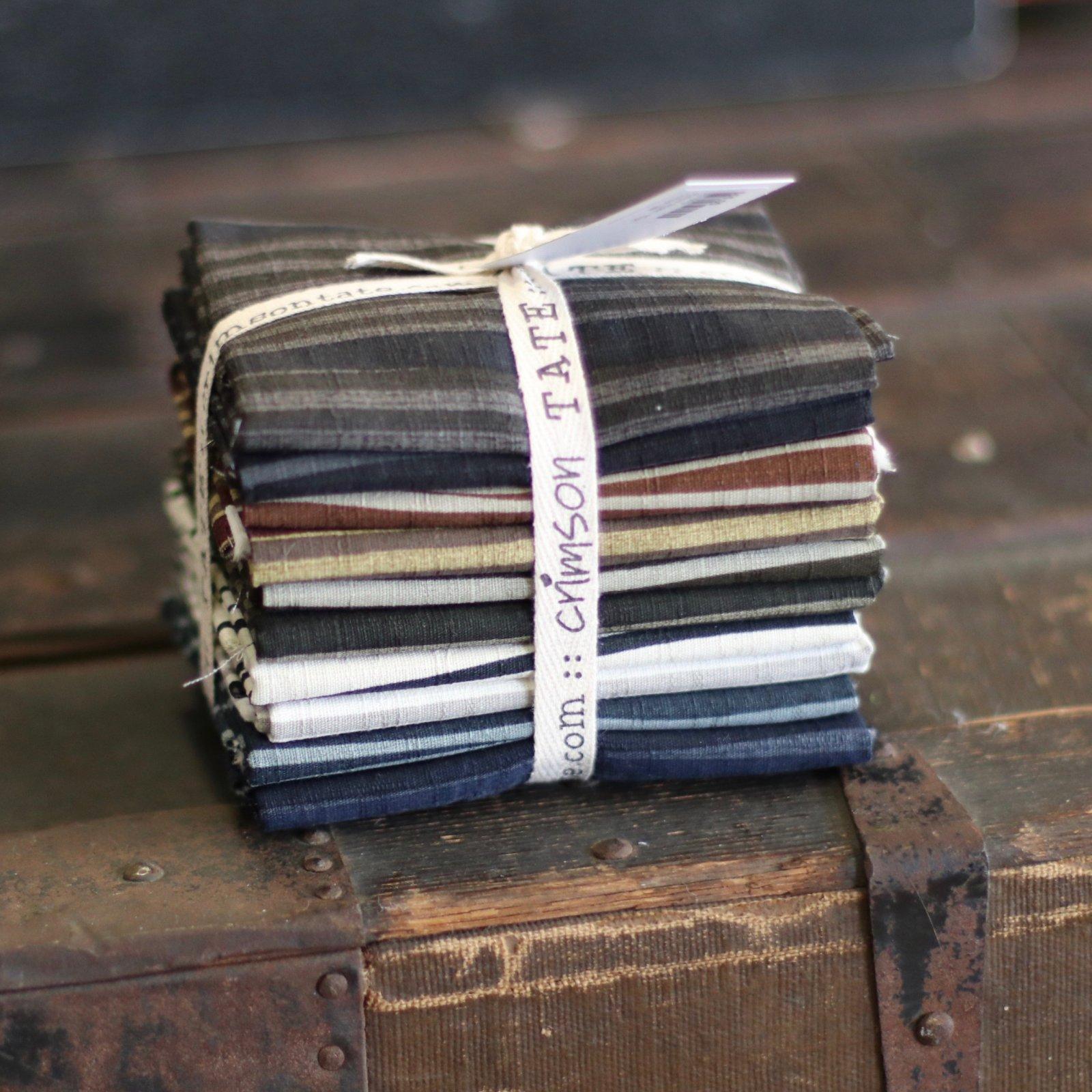 Robust Stripes - 10 pc. Fat Quarter Bundle