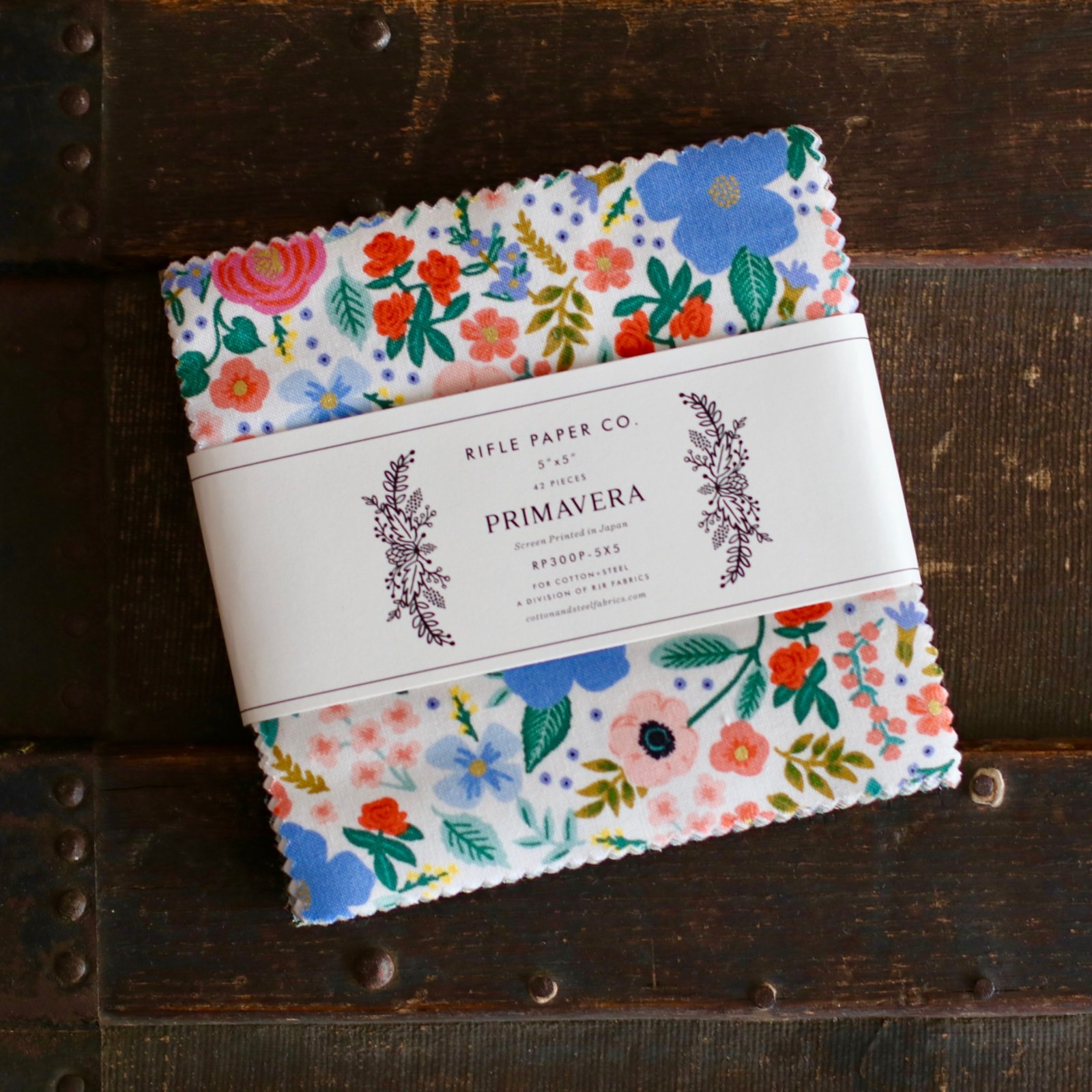 Rifle Paper Co. Primavera - 5 Charm Pack (42 pc.)