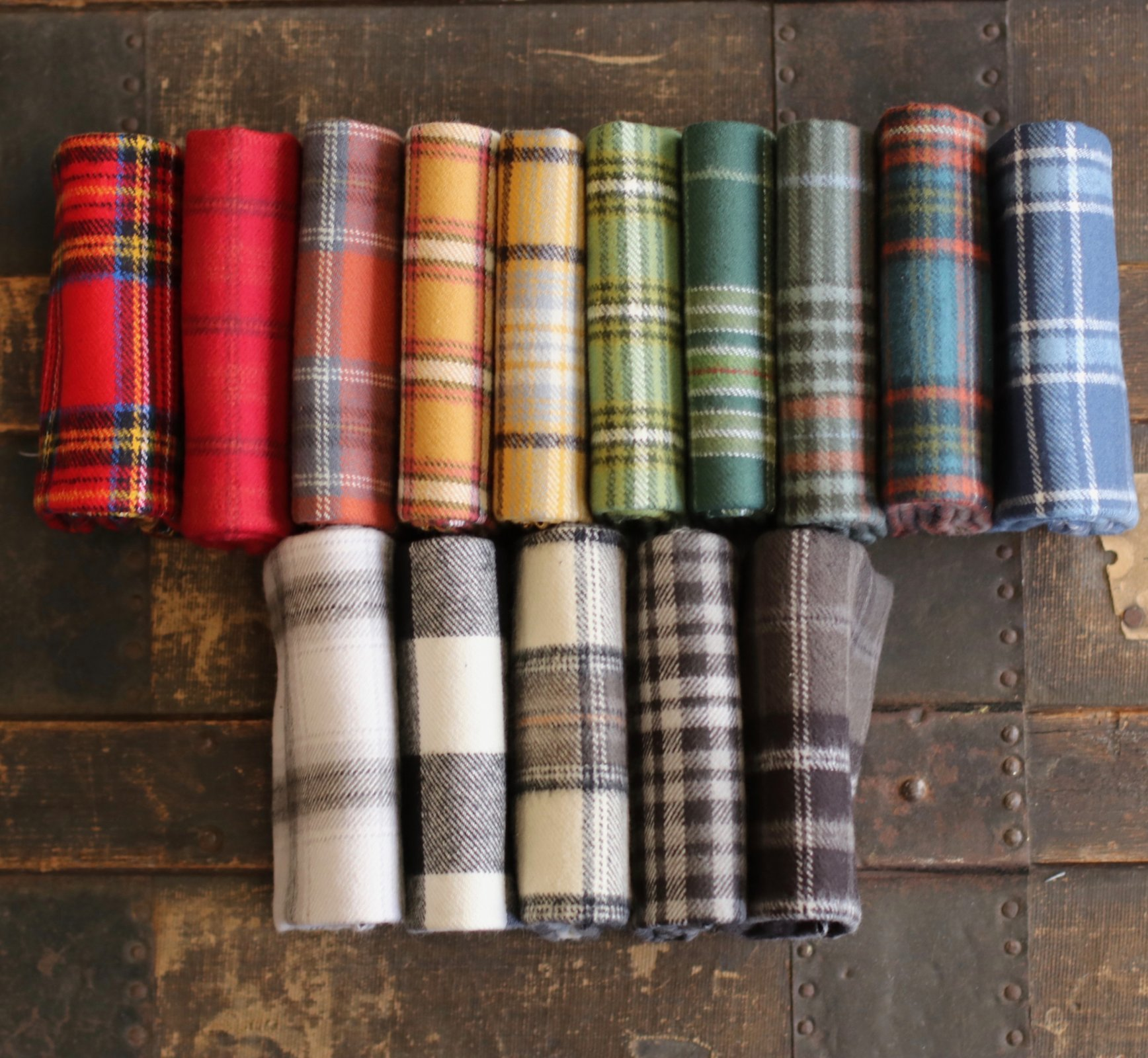 Primo Plaid - 15 pc. Fat Quarter Bundle