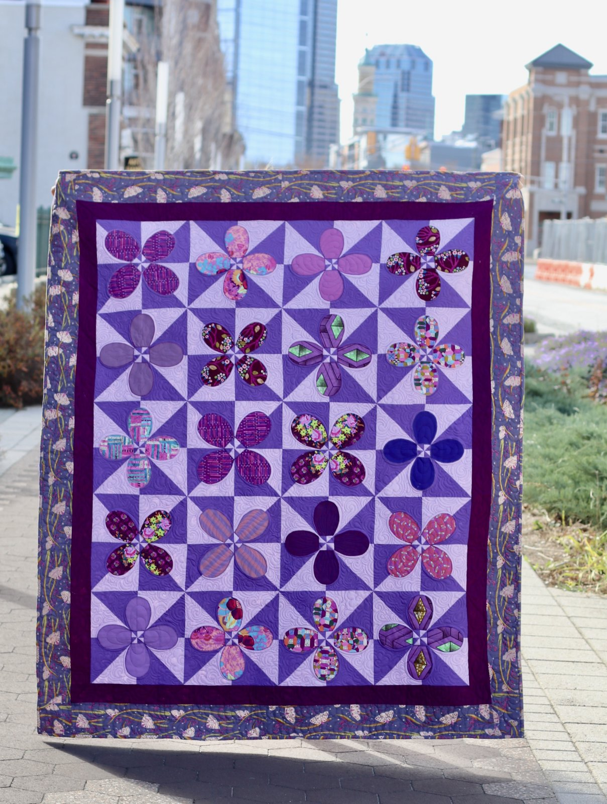 Donation to Akoma Ntoso Modern Quilt Guild