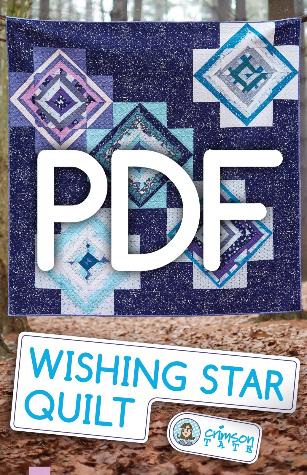 Wishing Star Quilt Pattern (PDF Download)