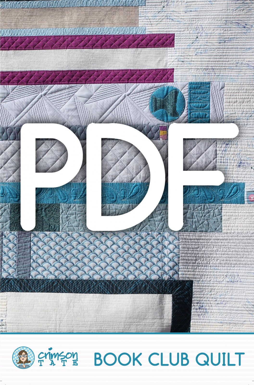 Book Club Quilt Pattern (PDF Download)
