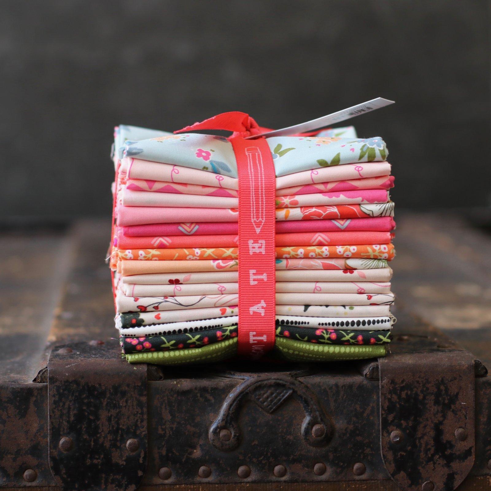 Art Gallery Fabrics (AGF) Open Heart - 16 pc. Fat Quarter Bundle