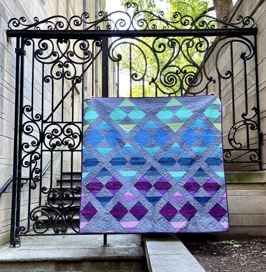 New Horizons Quilt Kit - Suzy Quilts