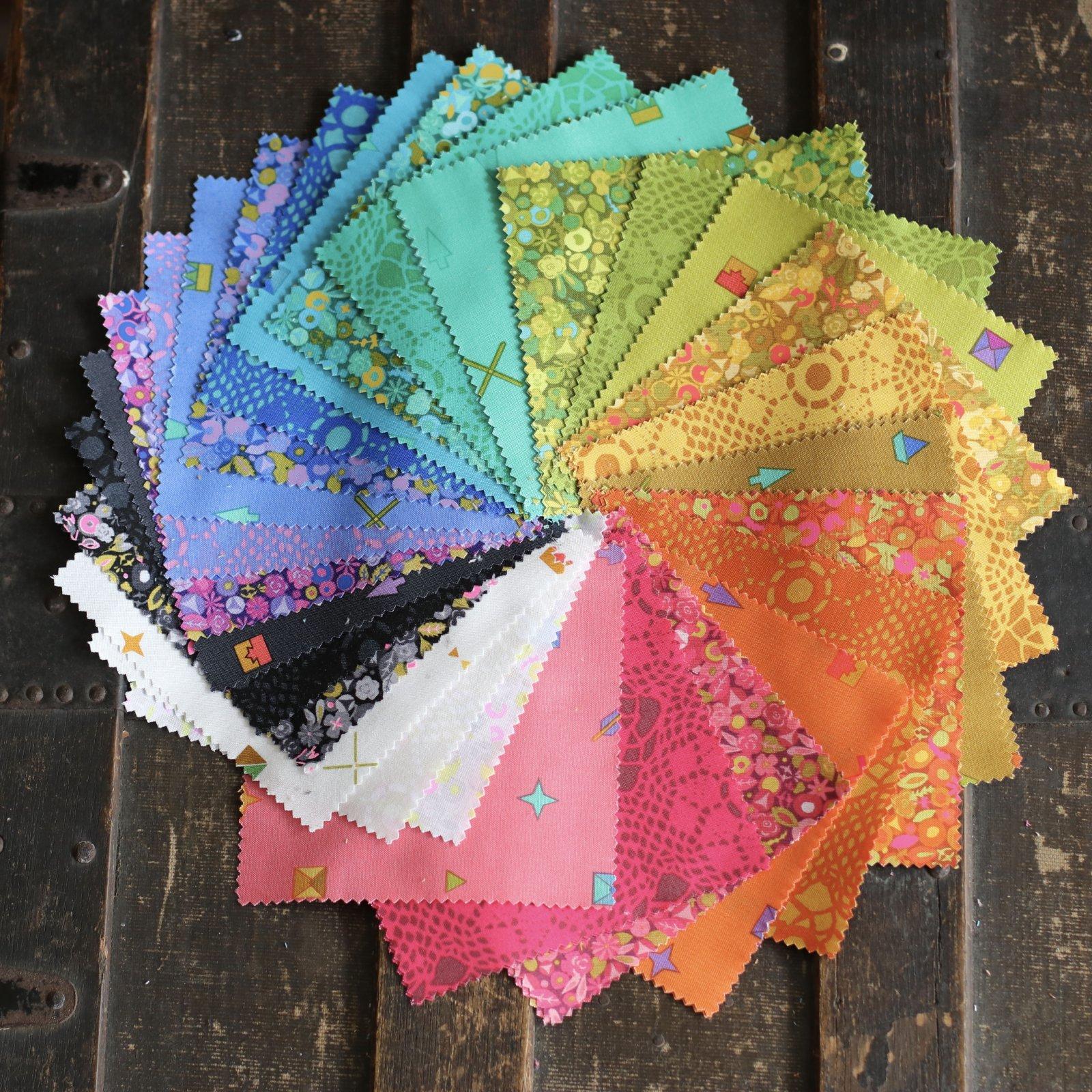 Alison Glass Sun Print 2021 - 5 Charm Pack (42 pieces)