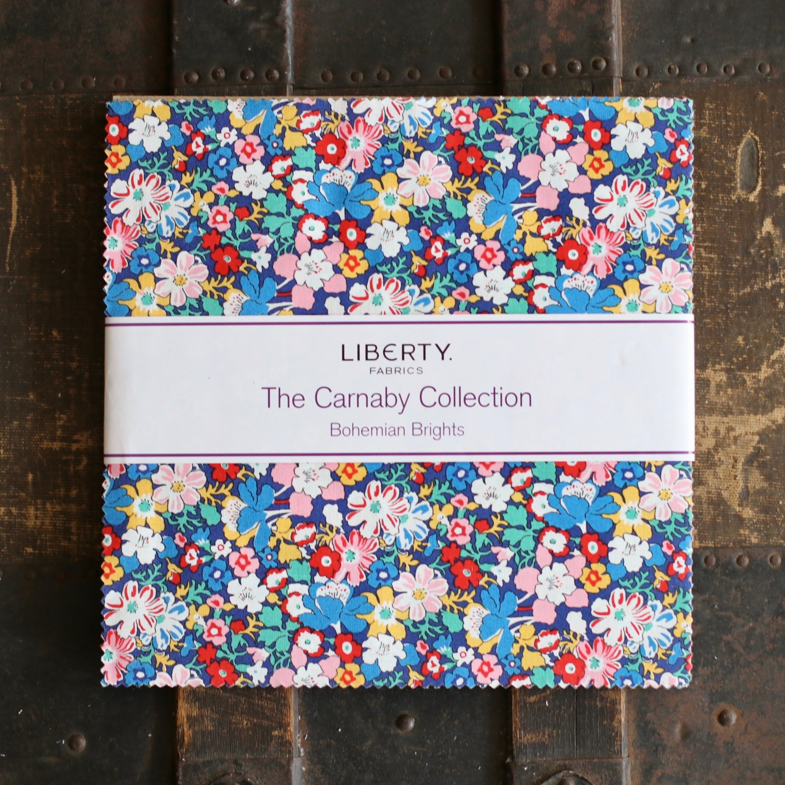 Liberty Fabrics The Carnaby Collection - Bohemian Brights 10 Stacker
