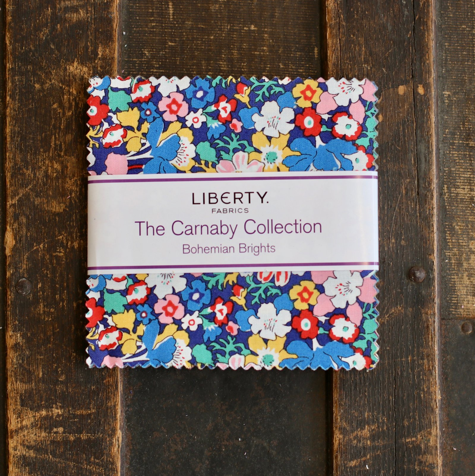 Liberty Fabrics The Carnaby Collection - Bohemian Brights 5 Stacker