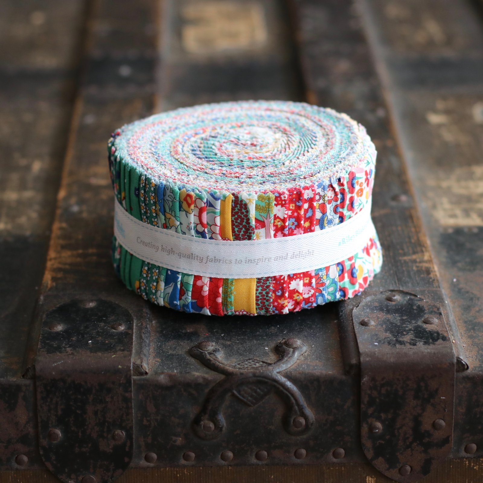 Liberty Fabrics The Carnaby Collection - Bohemian Brights 2 1/2 Rolie Polie