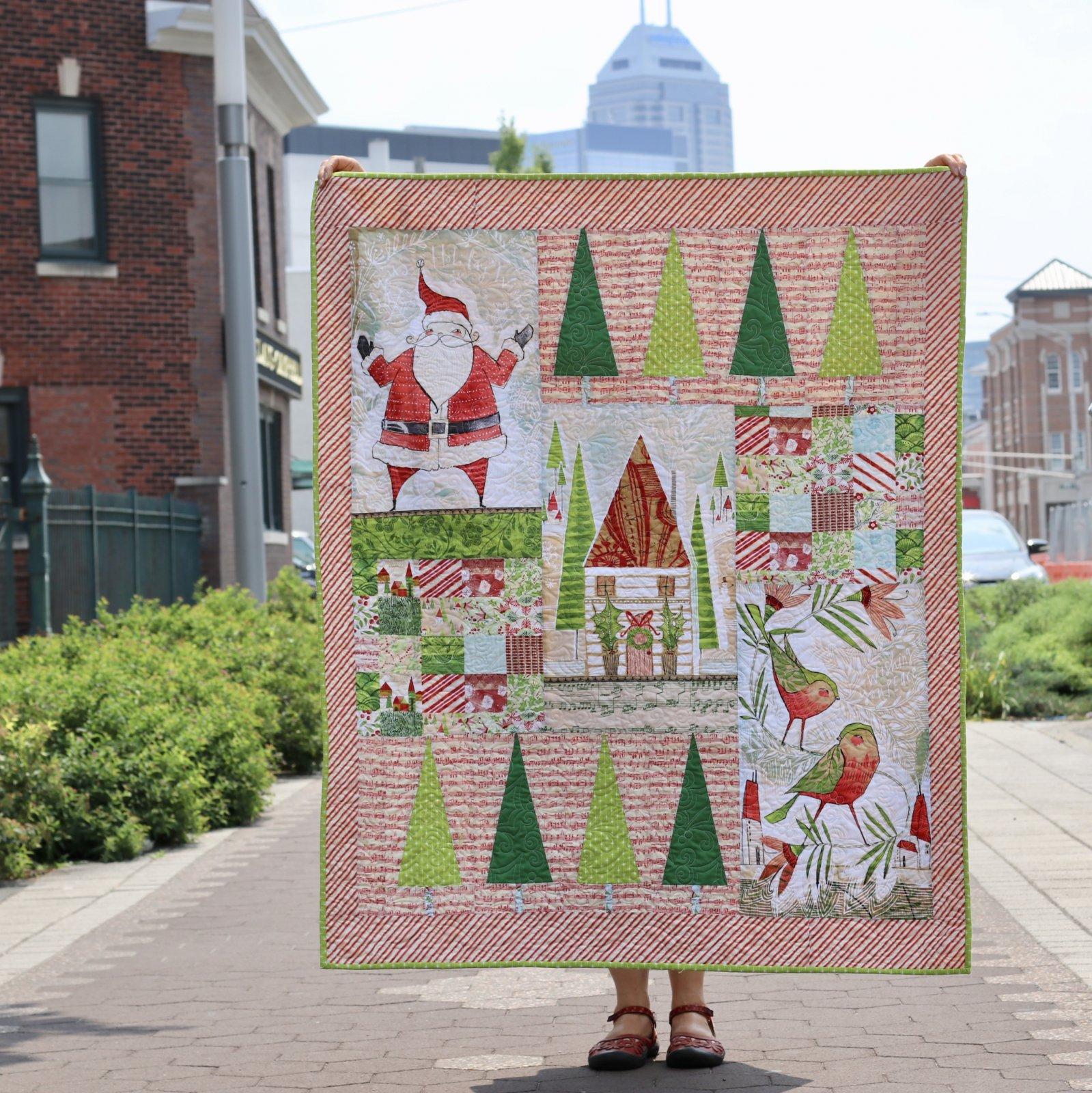 Deck the Halls Quilt Kit Featuring Cori Dantini