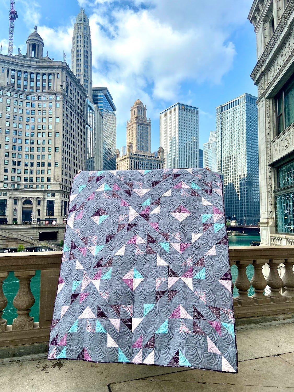 Summer Haze Quilt Kit - Suzy Quilts
