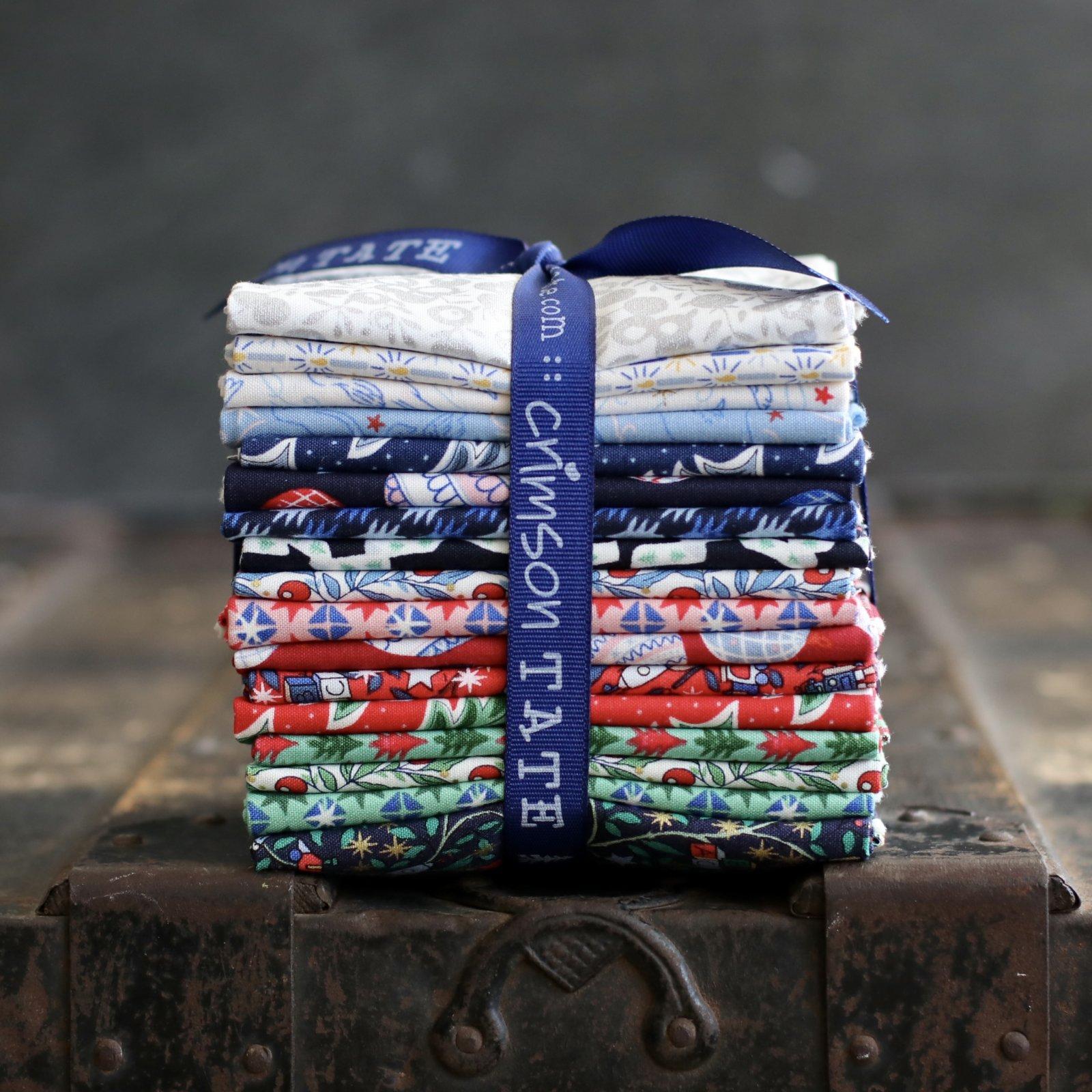 Liberty Fabrics Merry and Bright - 17 pc. Bundles