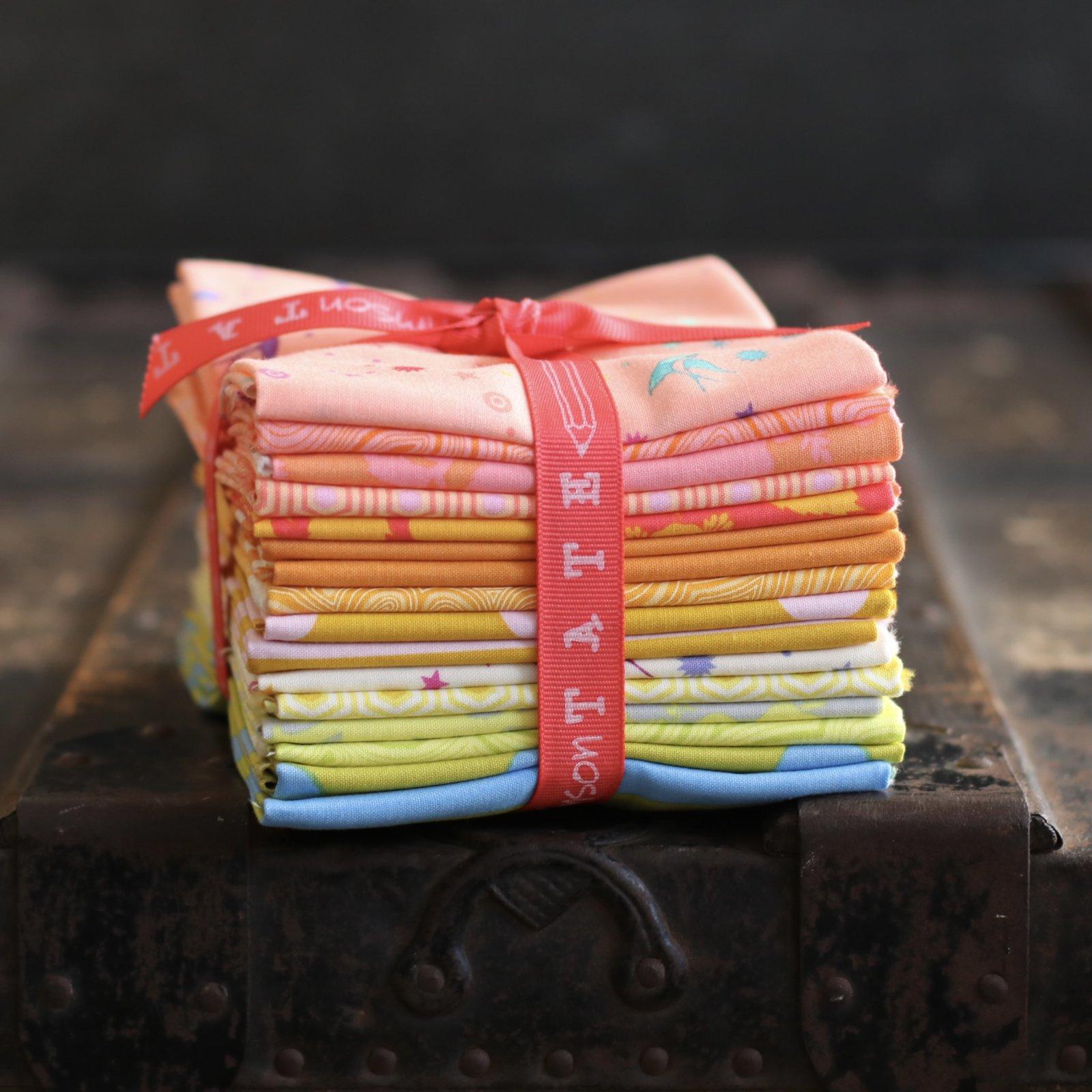 Tula Pink True Colors - 16 pc. Fat Quarter Bundle (Goldfish)