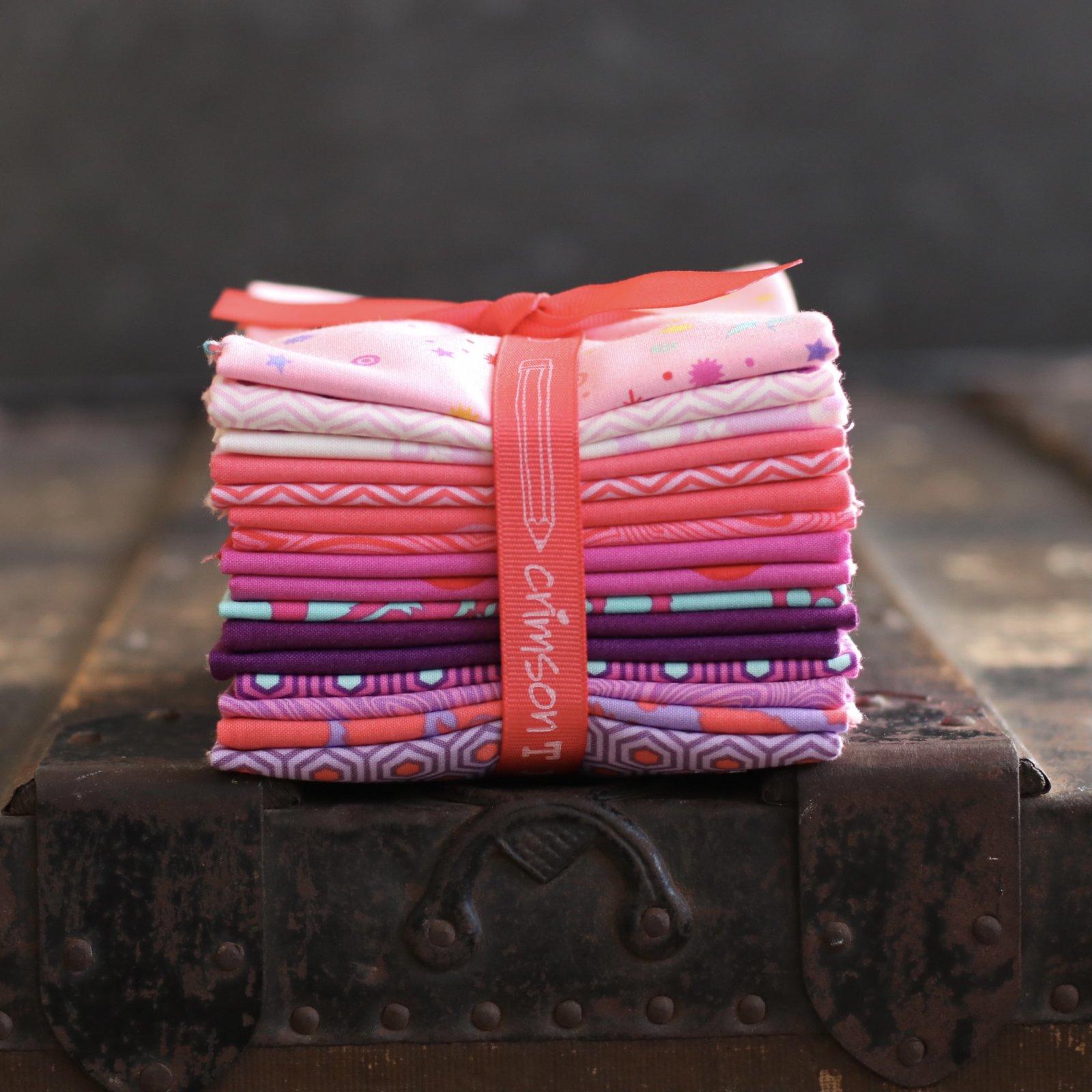 Tula Pink True Colors - 16 pc. Fat Quarter Bundle (Flamingo)