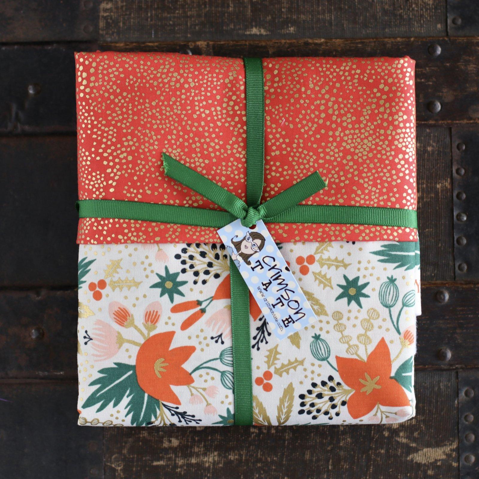 Glitzy Poinsettia Stocking Kit